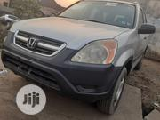 Honda CR-V LX 4WD 2004 Silver | Cars for sale in Lagos State, Lagos Mainland
