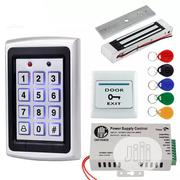 Door Access Control System Kit RFID Keyboard Waterproof Cover + Elctri | Security & Surveillance for sale in Lagos State, Ikeja