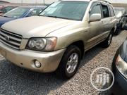 Toyota Highlander 2003 Gold | Cars for sale in Lagos State, Ikorodu