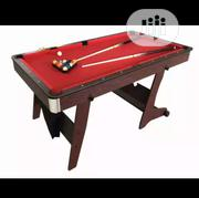 6ft Foldable Snooker Pool Table With Complete Acessories | Sports Equipment for sale in Lagos State, Ajah