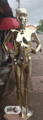 Gold Female Mannequin With Face | Store Equipment for sale in Edo State, Benin City