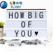 A4 USB Light Box With Letters, Emojis, Numbers | Store Equipment for sale in Oyo State, Ibadan