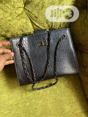 Black Chain Leather 2 Piece Handbag | Bags for sale in Lagos State, Lagos Island