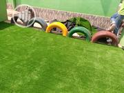 Artificial Grass Installed In School Playground In Lagos State | Landscaping & Gardening Services for sale in Lagos State, Ikeja