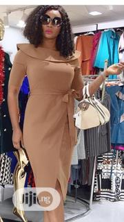 Turkey High Quality Brown Dress for Ladies. | Clothing for sale in Lagos State, Egbe Idimu