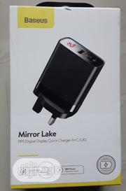 Baseus PPS Digital Display Quick Charge Head.A+C UK | Accessories for Mobile Phones & Tablets for sale in Lagos State, Ikeja