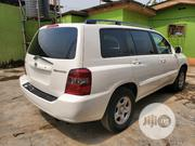 Toyota Highlander 2007 V6 4x4 White | Cars for sale in Lagos State, Ikeja