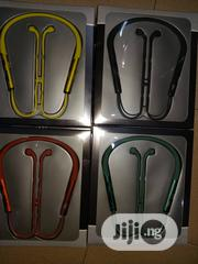 Aircon Neckband Headset. | Headphones for sale in Lagos State, Ikeja