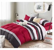 Red And Black With White Bedsheet | Home Accessories for sale in Lagos State, Ojodu