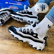 Skechers White and Black Sneakers | Shoes for sale in Lagos State, Lagos Island