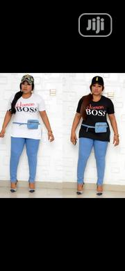 Boss Woman Outfit. Top 6k Jeggings 13k and Face Cap 5k. | Clothing Accessories for sale in Lagos State