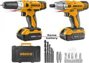 INGCO 18volts Cordless Drill | Tools & Accessories for sale in Akwa Ibom State, Uyo