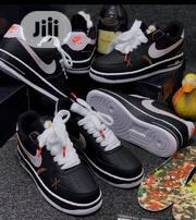 Nike Air Force 1 Black Sneakers | Shoes for sale in Lagos State, Surulere