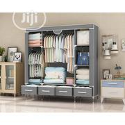 Quality Storage Wardrobe + 4 Drawers L-150x B-45x H170cm | Furniture for sale in Delta State, Warri