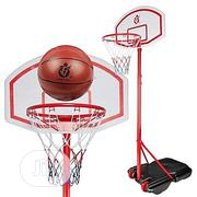 Children Basketball Stand With Ball Age 6 Above | Sports Equipment for sale in Abuja (FCT) State, Maitama