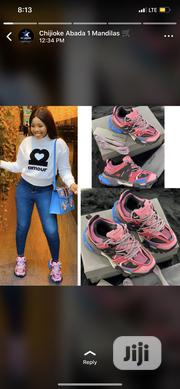 New Female Original Balenciaga Pink Sneakers | Shoes for sale in Lagos State, Ikeja