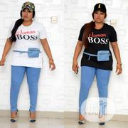 Tees With Side Waist Pouch Denim Jergins | Clothing for sale in Lagos State, Lagos Island