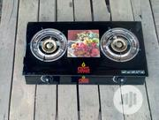 New 2 Burner Glass Top Gas Cooker | Kitchen Appliances for sale in Lagos State, Agege