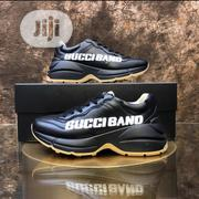"""New Black Gucci Raytheon """" Gucciband"""" Sneakers 