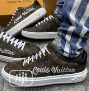 New Louis Vuitton Brown Low Unisex Sneakers | Shoes for sale in Lagos State, Ikeja