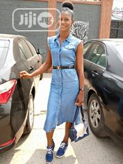 Denim Jean Gown Dress | Clothing for sale in Lagos State, Ajah