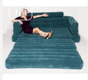 Intex Convertible Double Pull Out Sofa Air Bed/Chair | Furniture for sale in Edo State, Benin City