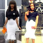 2 Pieces Crop Top And Skirt | Clothing for sale in Lagos State, Ajah