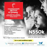 Hannover Messe In Germany 19th-24th April 2020 | Travel Agents & Tours for sale in Lagos State, Ikeja