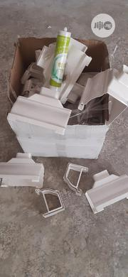 High Quality PVC Water Collector (White Profile) | Building Materials for sale in Lagos State, Ikoyi