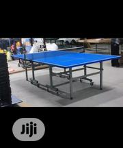 Brand New Aluminium Foldable Rolling Tires Table Tennis Board   Sports Equipment for sale in Lagos State, Lekki Phase 2