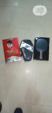 Brand New Carbon Table Tennis Bat With Bag | Sports Equipment for sale in Lagos State, Surulere