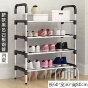 4 Layers Stainless Steel Shoe Rack | Furniture for sale in Rivers State, Port-Harcourt