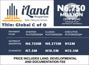 Vip Gardens Ilamija Ibeju Lekki And Othere Price List Locations | Land & Plots For Sale for sale in Lagos State, Lagos Island