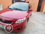 Toyota Corolla 2009 Red   Cars for sale in Lagos State, Surulere