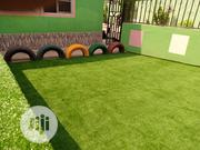 Synthetic Green Artificial Grass Installation In A School | Landscaping & Gardening Services for sale in Lagos State, Ikeja