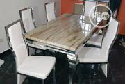 New High Quality Six Seater Marble Dining Table | Furniture for sale in Lagos State, Agboyi/Ketu