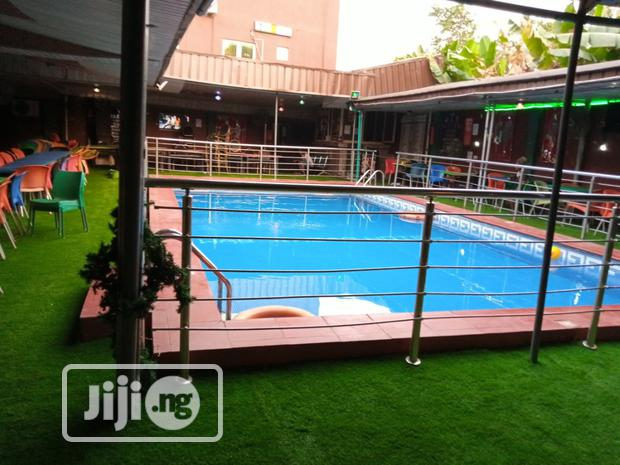 Artificial Grass Installation In Hotels In Lagos