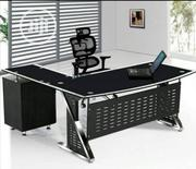 Quality Glass Office Table Brand New | Furniture for sale in Lagos State, Maryland