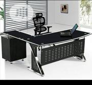 Affordable Glass Office Table Brand New | Furniture for sale in Lagos State, Lekki Phase 2