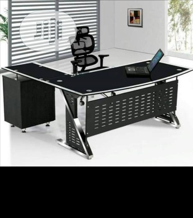 Imported Glass Office Table Brand New