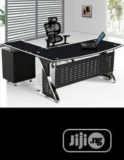 Tempered Glass Office Table Brand New | Furniture for sale in Lagos State, Ikoyi