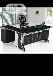 High Quality Glass Office Table Brand New | Furniture for sale in Lagos State, Ikorodu