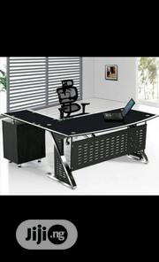Glass Office Table Brand New | Furniture for sale in Lagos State, Ibeju
