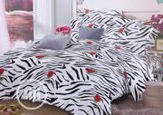 Beautiful Spiral-Rose Design Bed Sheet and Pillow Case | Home Accessories for sale in Lagos State, Shomolu