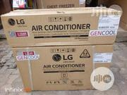 New One LG Inverter Gencool 1.5hp Air Conditioner 2years Warranty | Home Appliances for sale in Lagos State, Ojo