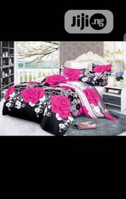 Bed Sheet With Pink Rose Designs | Home Accessories for sale in Lagos State, Oshodi-Isolo
