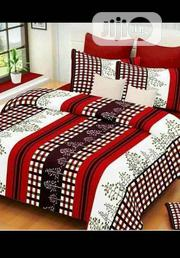 Red And White Stripes Bed Sheets, Pillow Cases And Duvet | Home Accessories for sale in Lagos State, Oshodi-Isolo