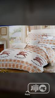 Beautiful Burberry Bed Sheet With Duvet | Home Accessories for sale in Lagos State, Oshodi-Isolo