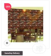 3D Wall Paper Brickstone | Home Accessories for sale in Lagos State, Ikeja