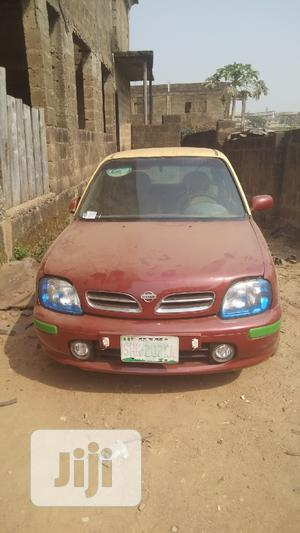 Nissan Micra 2005 Red